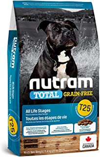Nutram T25 Total Grain-Free Trout & Salmon Meal Dog Food, 11.4kg