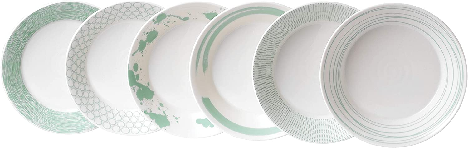 Royal Doulton Pacific 23cm Pasta Bowl Mint Alternative dealer Clearance SALE! Limited time! of Set 6 Mixed