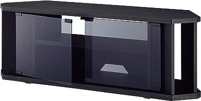 ハヤミ KGシリーズ 32~43V型対応 グレーアッシュ木目柄でコーナー設置可能なテレビ台 TV-KG1000