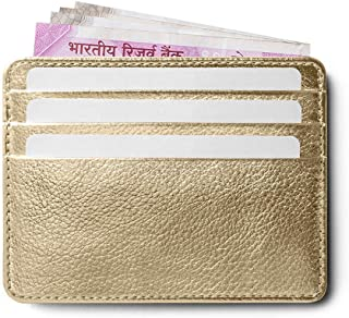DailyObjects Gold Card Case
