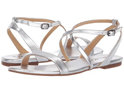 Splendid Susannah (Silver Metallic Leather) Women