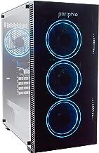 Periphio Blue Gaming PC Tower Desktop Computer, Intel...