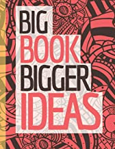 Big Book Bigger Ideas: Notebook (Composition Book Journal) (8.5 x 11 Large) (Happy Home Notebooks and Journals)