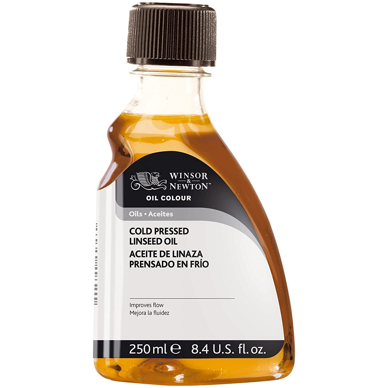 Winsor & Newton Cold Pressed Linseed Oil, 250ml