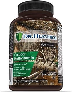 Realtree Daily Multivitamin by Dr Hughes | Antioxidant: Vitamin C (5X) and Vitamin E (2X) | Energy: Vitamin B12 B6 | Eye H...