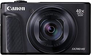 Canon PowerShot SX740 HS Digitale camera (20,3 MP, 40x optische zoom, inklapbaar 3inch scherm, DIGIC 8, EVF, 4K, ultra-hd,...