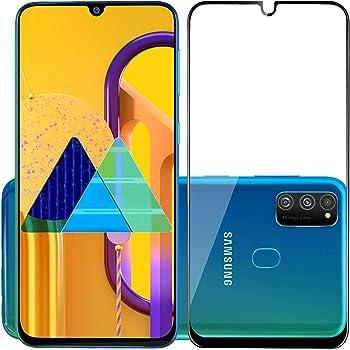 POPIO Edge to Edge Tempered Glass Screen Protector for Samsung Galaxy M31/M30s/M30/A30/A30s/A50/A50s/A20 with Installation Kit (Black)