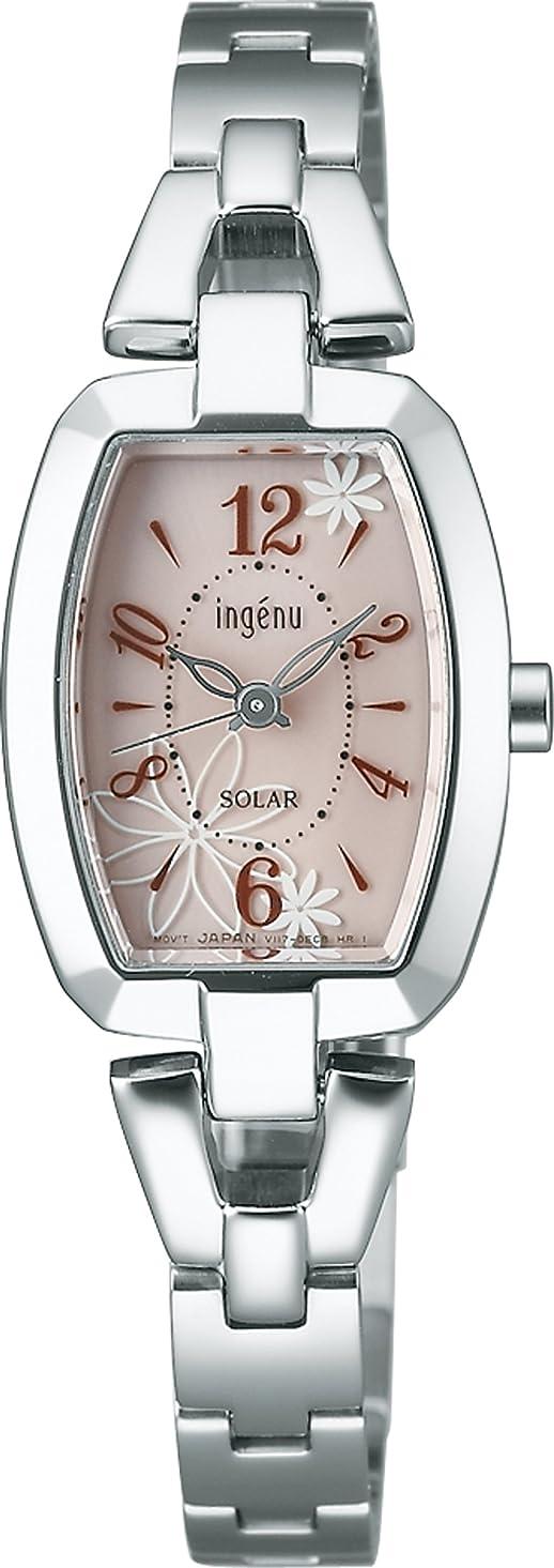 位置するスツール聖歌[ingene]アンジェーヌ 腕時計 ソーラー 日常生活用強化防水 (10気圧) AHJD058 レディース