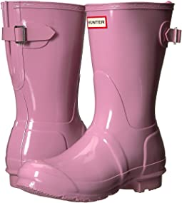 Hunter Original Back Adjustable Short Gloss Rain Boots