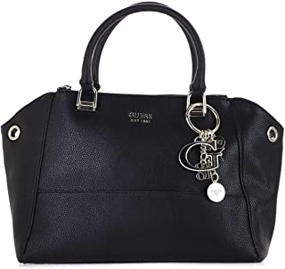 Luxury Fashion | Guess Womens HWVG7434060BLACK Black Handbag | Fall Winter 19