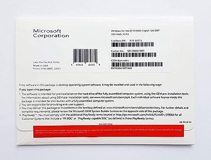 Windows Server 2016 Standard OEM 16 Core | New Sealed DVD