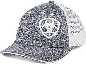 Ariat Youth Heather Offset Shield Logo Ball Cap