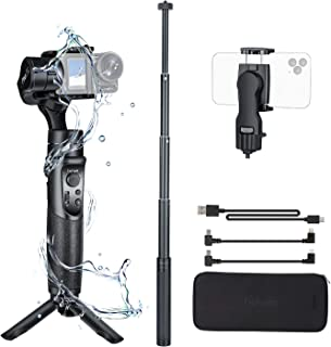 Hohem GoPro Gimbal Stabilizer, iSteady Pro 2 Kit with Phone Holder & Extension Rod, 3 Axis Splash-Proof Gimble IP64, for DJI Osmo Action,GoPro Hero 7/6/5/4/3, Action Cameras(can not Support gopro 8)