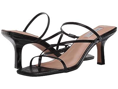 STEVEN NEW YORK Talie (Black Croc) High Heels