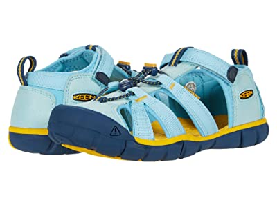 Keen Kids Seacamp II CNX (Little Kid/Big Kid) (Petit Four/Keen Yellow) Kids Shoes