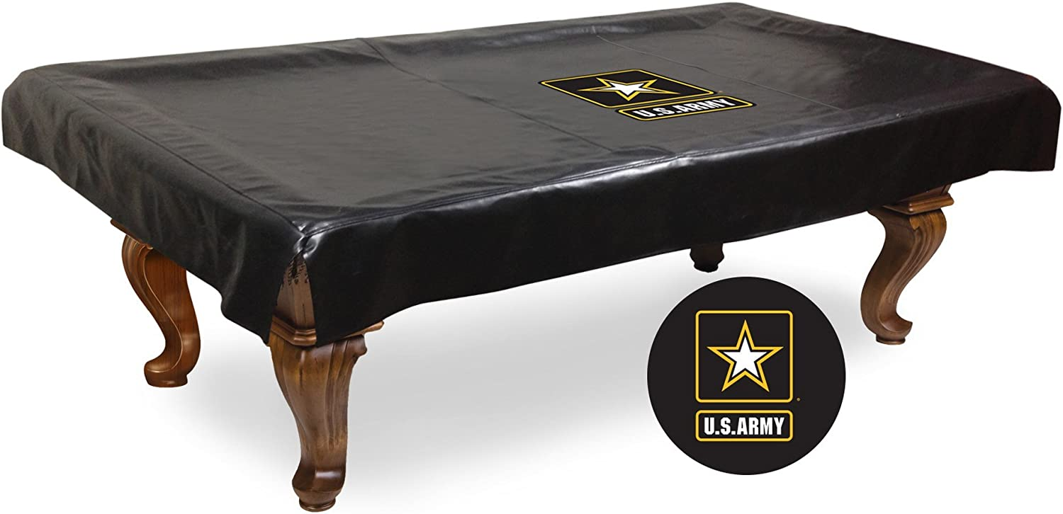 (2.7m)  NCAA U.S. Army Black Knights Billiard Table Cover