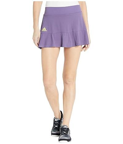 adidas Heat.Rdy Match Skirt (Tech Purple/Shock Yellow) Women
