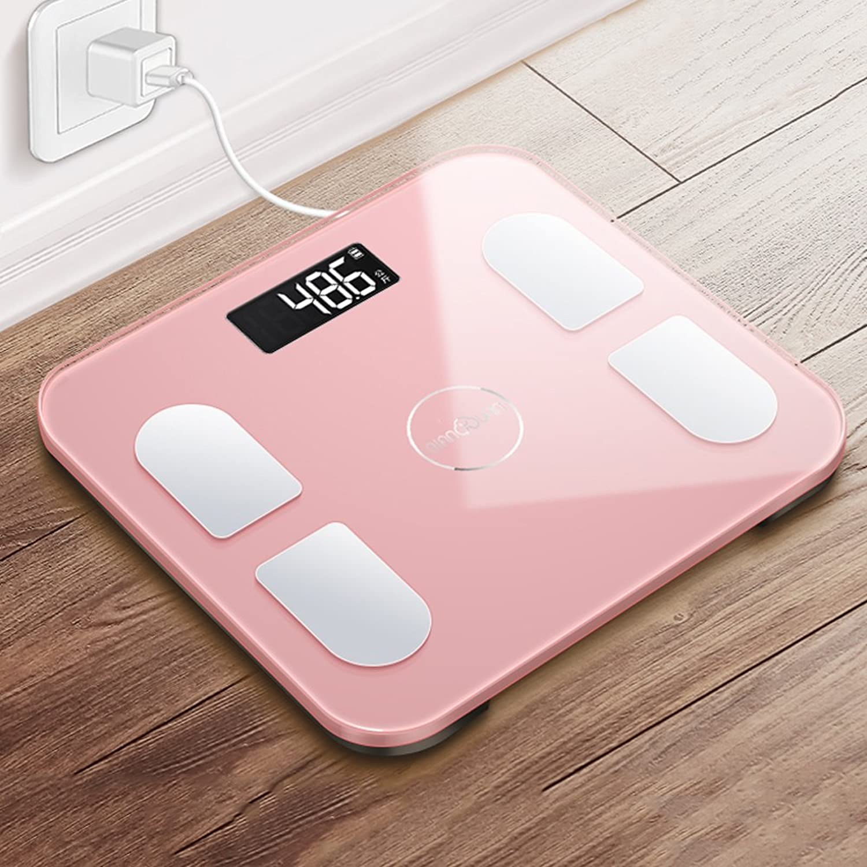 Gewichts-Skalagesundheitseignungswaagen des aufladbaren elektrischen Gewicht-Skala-Erwachsen-intelligenten Körpergewichts des Gewichts der menschlichen Körpergewichtes, die fett messen B07F6GLBQZ | Bestellungen Sind Willkommen
