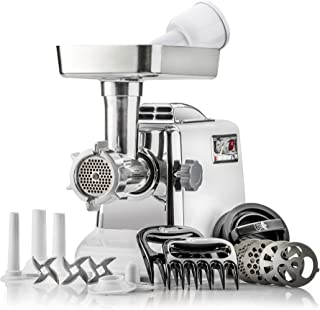 The Heavy-Duty STX Megaforce Classic 3000 Series Air Cooled Electric Meat Grinder Sausage..