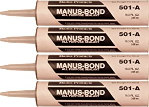 4 Pack Manus Bond All Purpose Weatherproof Sealant Gray