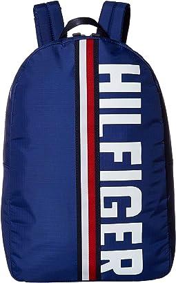 Knox Hilfiger Rip Stop Nylon Backpack