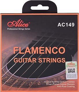 AC149-N Classical Guitar Strings Crystal Nylon & Carbon (G) Guitar String Set for Flamenco Guitars Classical Guitars from ...