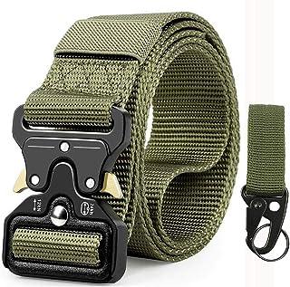 Cinturón Táctico Militar Correa de Cintura de Hombres, Cin