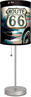 Transportation - Route 66 Sport Silver Lamp