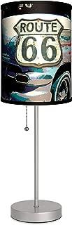 Transportation - Route 66 Sport Silver Lamp
