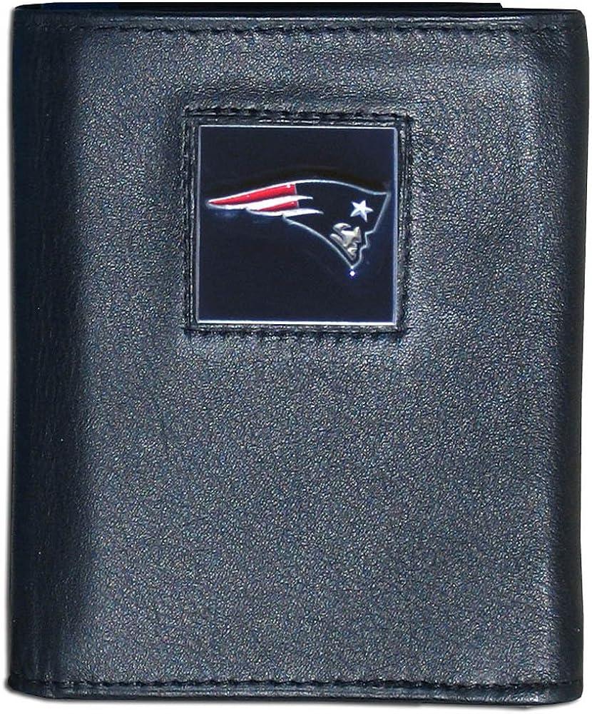 Siskiyou Mens Leather Tri-fold Wallet