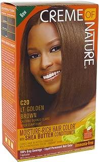 Creme Of Nature Color C20 Light Golden Brown Kit (2 Pack)