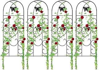 4 Pack Garden Trellis for Climbing Plants 60