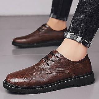 N\C Zapatos de cuero de los hombres Primavera Negocio Tendencia de Todo partido de los Hombres Casual Zapatos de Cuero de ...