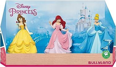 Bullyland 13245–Princesas Disney en caja de regalo parte Figura set, 3piezas