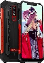 $289 Get Rugged Phones Unlocked, Ulefone Armor 6E IP68 Waterproof Cell Phone Android 9 Helio P70 4GB+64GB 6.2 inch 19:9 FHD+ 5000mAh Dual Camera Global Dual 4G Fingerprint+Face Unlocked NFC GPS+Glonass (Red)