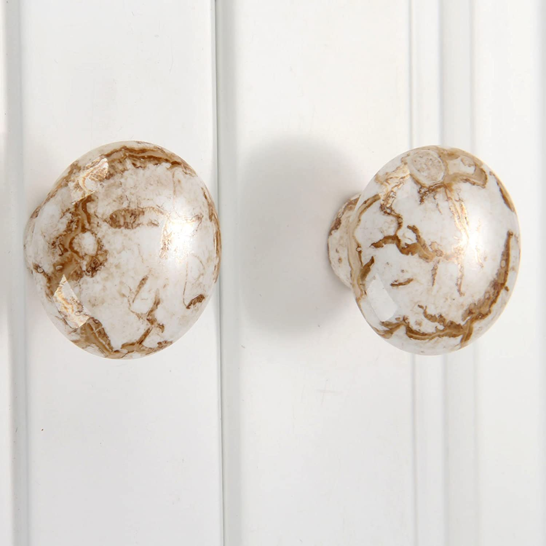 Award-winning store AILIUQIAN 2pc Antique Furniture Handle Drawer New color Knob Ceramic Door