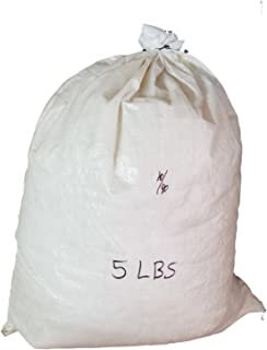 Goose Down Feather Stuffing & Fill – Bulk 5lb Bag - 10/90 White Down Real Feather Mix for Filling, Repair, Restuffing Fluff to Couch Cushions, Pillows, Jackets, Bedding Products