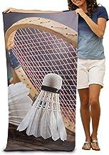 All-In-One-Outlet-24 Klaus Herding GmbH Badminton Federball Badetuch Sauna Handtuch VELOURUCH 75 x 150 Geschenk NEU Wow