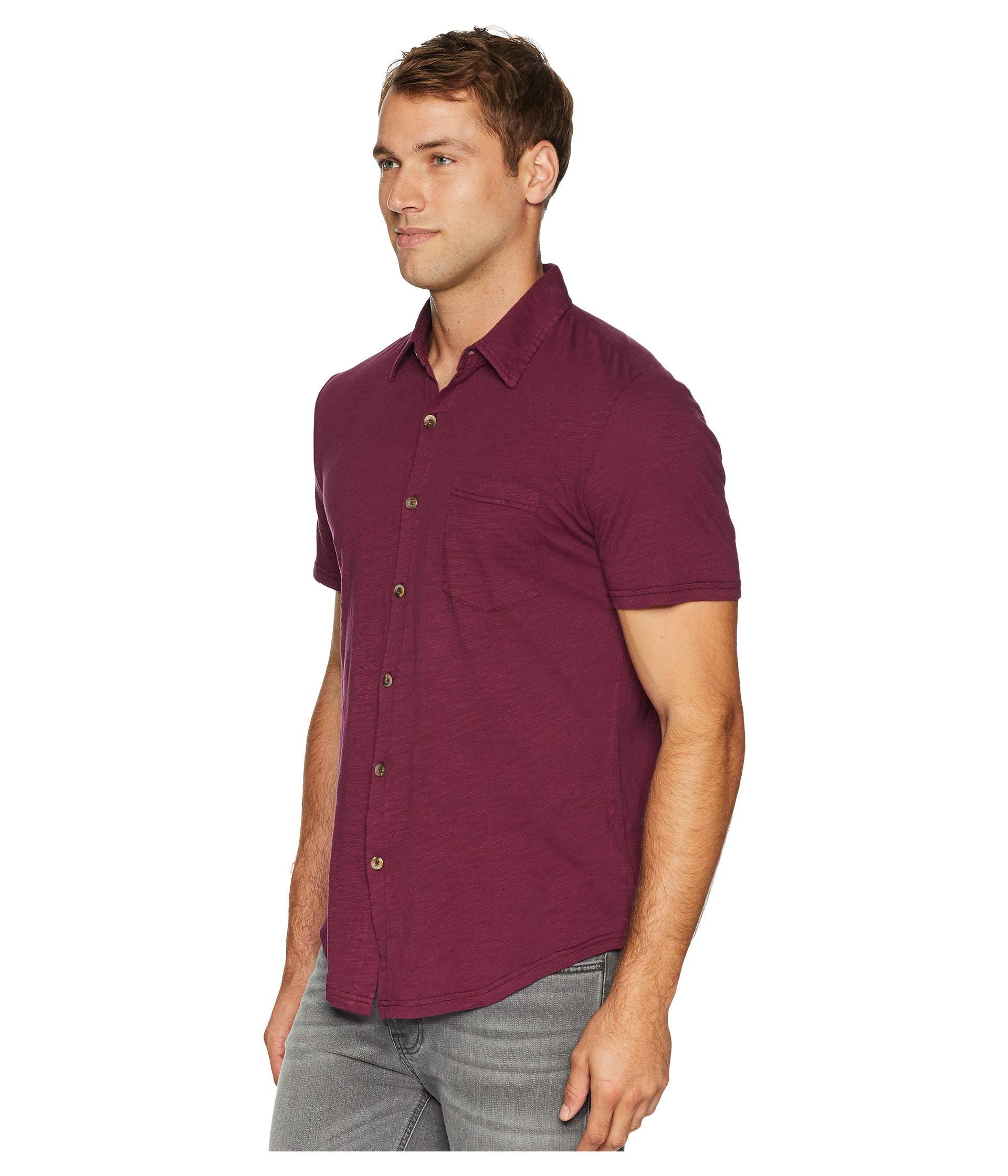 Front Button Montana doc Shirt Mod o Mulberry Short Sleeve Xq1nZYw