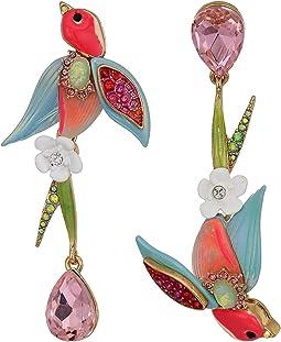 Bird Non-Matching Earrings