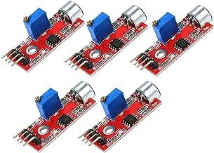 DEVMO 5PCS Microphone Sensor High Sensitivity Sound Detection Module for Arduino PIC AVR