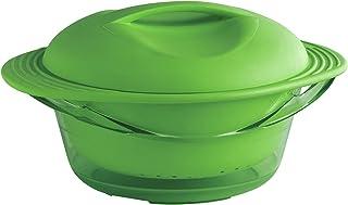 mastrad F70018 - Olla para cocinar al Vapor (Silicona), Color Verde