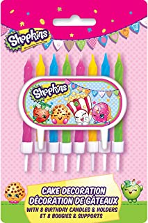 Shopkins Cake Topper & Birthday Candle Set