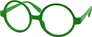 Retro Geek Nerd Style Round Shape Glass Frame NO LENSES
