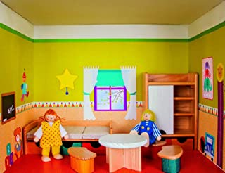 Rulke Rulke22880 Dollhouse on Shelf Nursery Toy