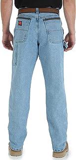 Wrangler Riggs Workwear Men's Carpenter Jean, Vintage Indigo, 44W x 36L