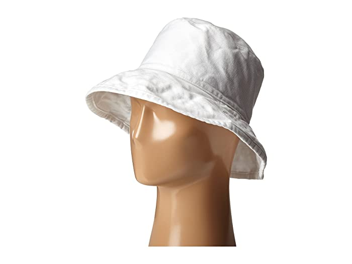 Women's Vintage Hats | Old Fashioned Hats | Retro Hats Hat Attack Washed Cotton Crusher White Caps $46.00 AT vintagedancer.com