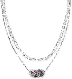 Elisa Multi Strand Necklace for Women, Fashion Jewelry