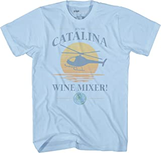 Step Brothers Catalina Wine Mixer Sunset Graphic Adult T-Shirt