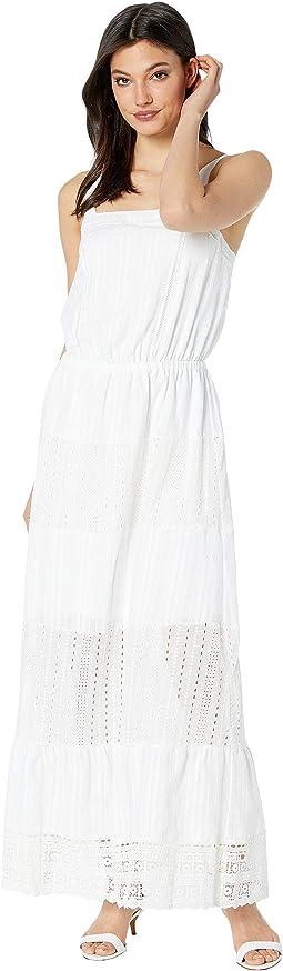 White Copa Jacquard Stripe